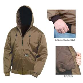 Nite-Lite Pro Hooded Jacket - Nylon Brown