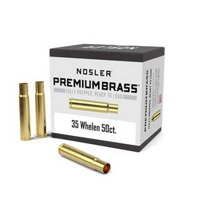 Nosler Unprimed Brass Rifle Cartridge Cases 50/ct .35 Whelen