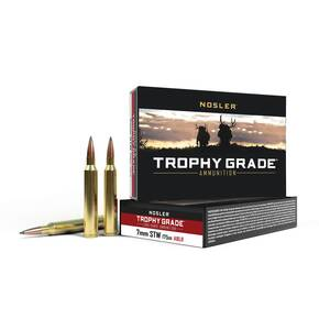 Nosler Trophy Grade Long Range Rifle Ammunition 7mm STW 175 gr ACB LR 20/Box