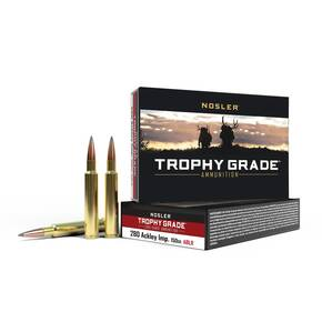 Nosler Trophy Grade Long Range Rifle Ammunition .280 Ackley Improved 150 gr ABLR 2930 fps - 20/box