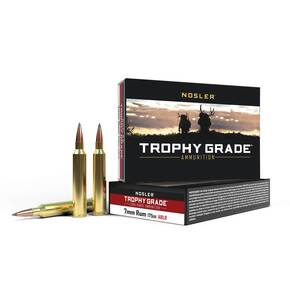 Nosler Trophy Grade Long Range Rifle Ammunition 7mm RUM 175 gr ACB LR 20/Box