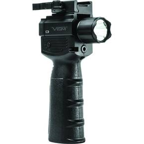 NcSTAR VISM Vertical Grip w/Strobe FlashLight & Red Laser Gen 2