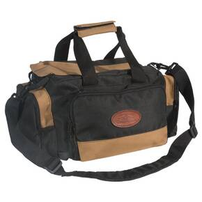 The Outdoor Connection Deluxe Range Bag - Black/Tan