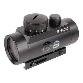 BSA Huntsman Red/Green/Blue Dot Sight -  1x30mm 5 MOA - Matte