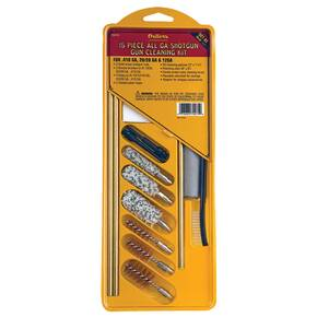 Outers 15 Piece All Gauge Shotgun Cleaning Kit
