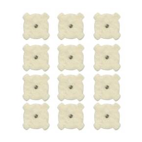 Otis 12 Pack Star Chamber Cleaning Pads 7.62mm/AR-10