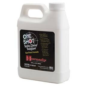 Hornady One Shot Sonic Cleaning Solution - Gun Parts Formula - 1 qt