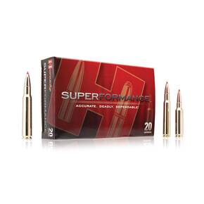Hornady Superformance Rifle Ammunition .222 Rem 35 gr NTX 3760 fps - 20/box