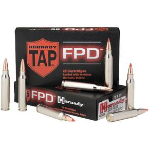 Hornady TAP FPD Rifle Ammunition .223 Rem 55 gr FPD 3240 fps - 20/box