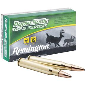 Remington Hypersonic Rifle Ammunition .300 Win Mag 180 gr PSP 3122 fps - 20/box