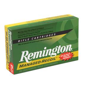 Remington Managed Recoil Rifle Ammunition .30-30 Win 125 gr PSP 2175 fps - 20/box