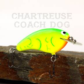 Phil Hunt Custom W1 Shallow Crankbait Hard Lure - Chart Coachdog