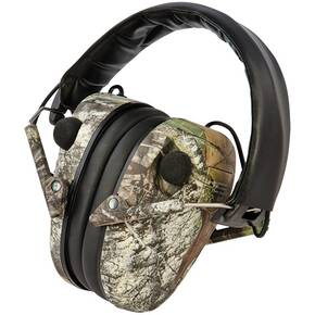 Caldwell E-MAX Low Profile Electronic Hearing Protection  Mossy Oak Break-Up