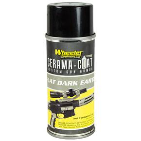 Wheeler Engineering Cerama-Coat Firearm Finish -  Flat Dark Earth 2oz.