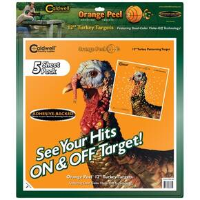 "Battenfeld Technologies Caldwell Orange Peel Targets Turkey Target - 12"", 5/Pack"
