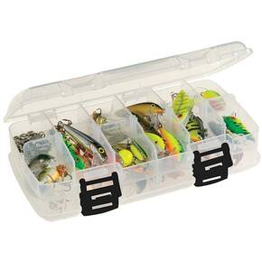Plano Clear Medium Double-Sided Storage Box 8.25 X 4.5