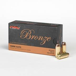 PMC Bronze Handgun Ammunition 10mm Auto 200 gr FMJ 1050 fps 50/box