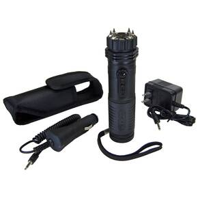 Zaplight Extreme 1 Million Volt Stun Gun / Flashlight with Wall Charger