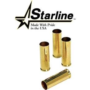 Starline Unprimed Brass Handgun Cartridge Cases 100/ct 7.6x25mm Tokarev