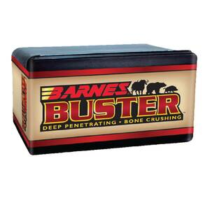 "Barnes Buster Hunting Bullets for Handguns & Lever Rifles .500 S&W .500"" 400 gr FNFB 50/ct"