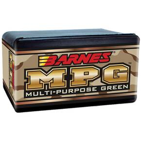"Barnes Multi-Purpose green (MPG) Bullets .22 cal .224"" 55 gr MPGFB 100/ct"