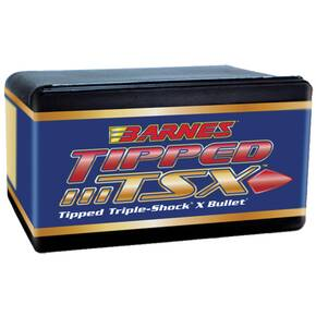 "Barnes Tipped TSX (TTSX) Bullets 6mm .243"" 80 gr TTSXBT 50/ct"
