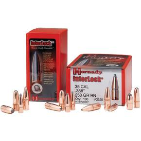 Hornady Interlock Bullets .30 cal .308 Dia 110 gr FMJ-RN 100/Bag