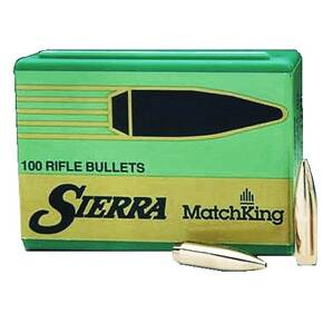 "Sierra MatchKing Rifle Bullets 7mm/.284 cal .284"" 175 gr HPBT MATCH 100/ct"