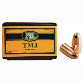 "Speer TMJ Handgun Plinking Bullets 9mm Luger .355"" 115 gr TMJ-RN 100/ct"
