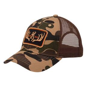 Browning Clothing Cap Racked Brown
