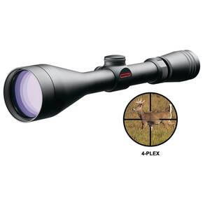 "Redfield Revolution Rifle Scope - 3-9x50mm 4-Plex 33.-13.1' 3.7-4.2"" Matte"