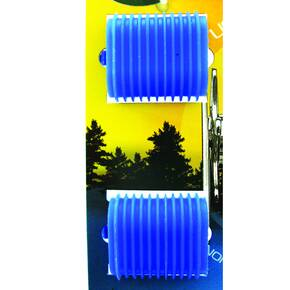 Reel Grip Reel Handle Accessory Cover - Blue