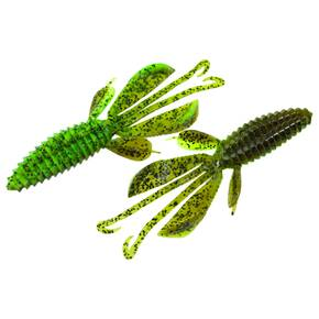 "Reaction Innovations Kinky Beaver Soft Craw Lure 5"" 7pk - Dirty Sanchez"