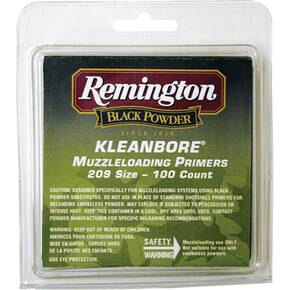 Remington Kleanbore Muzzleloading Primers 100/box
