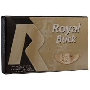 "Rio Royal Buck 12 ga 2 3/4""  21 plts #4B 1345 fps - 5/box"