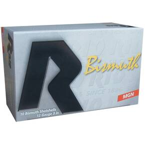 "Rio Bismuth Magnum Shotshell 12 ga 3"" MAX 1-1/4"" #5 1400 fps 10/Box"