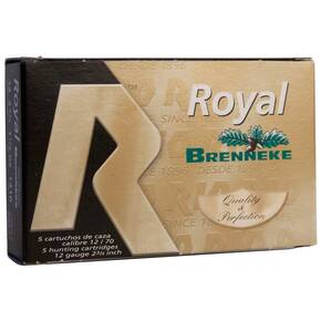 "Rio Royal Brenneke Slug 12 ga 2 3/4"" 1 1/8 oz Slug 5/ct"