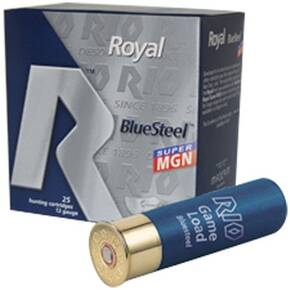 "Rio Royal Blue Steel 20 ga 3"" MAX 1 oz #5 1400 fps 25/Box"