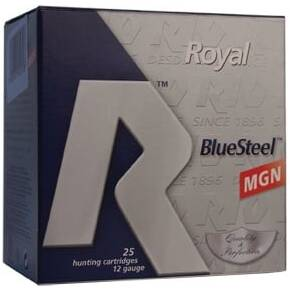 "Rio Royal BlueSteel 12 ga 3"" MAX 1 1/8 oz #2 1550 fps - 25/box"