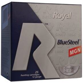 "Rio Royal Blue Steel 12ga 3"" 1-1/8oz #4 25/box"