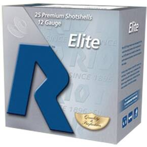 "Rio Elite High Velocity 28 Shotshell 12 ga 2-3/4"" HDCP 1-1/8 oz #7.5 1250 fps 25/Box"