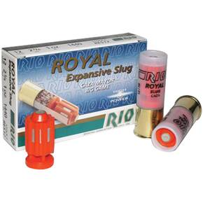 "Rio Royal Expansive Fragmentary Slug 12 ga 2 3/4"" 1 oz - 5/box"