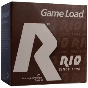 "Rio Top Game HV 12 ga 2 3/4"" 3 3/4 dr 1 1/4 oz #4 1330 fps - 25/box"