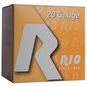 "Rio Top Target Shotshell 20 ga 2-3/4""  7/8 oz #8  25/Box"