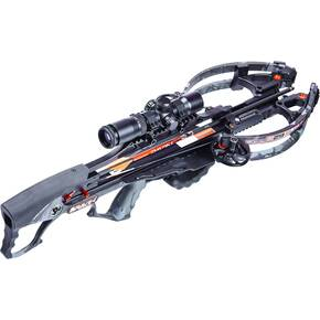 Ravin R29X Crossbow Package with Illum Scope & Arrows, Draw Handle - Pedator Dusk Camo