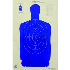 "Speedwell Official NRA Police Qualification Silhouette Police Silhouette Reduced 50 ft. 14"" X 21.5"""