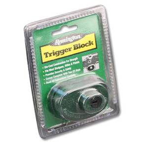 Remington Trigger Block Gun Locks 1/Pack