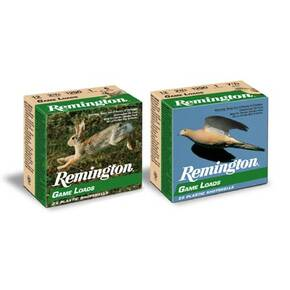 "Remington Lead Game Load 12 ga 2 3/4"" 3 1/4 dr 1 oz #7.5 1290 fps - 25/box"