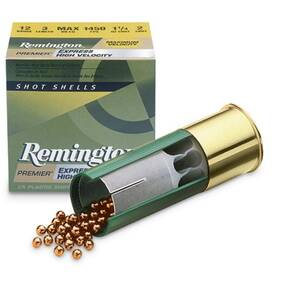 "Remington Express Extra Long Range Shotgun Ammo 12 ga 2 3/4"" 3 3/4 dr 1 1/4 oz #5 1330 fps - 25/box"