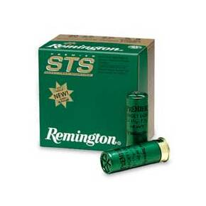 "Remington Premier STS Target 12 ga 2 3/4"" HDCP 1 1/8 oz #8 1235 fps - 25/box"